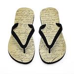 Declaration of Independence Signers Flip Flops