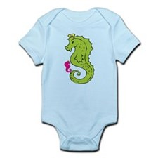 Sea horse and Baby Infant Bodysuit