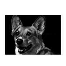 Dramatic Corgi Postcards (Package of 8)