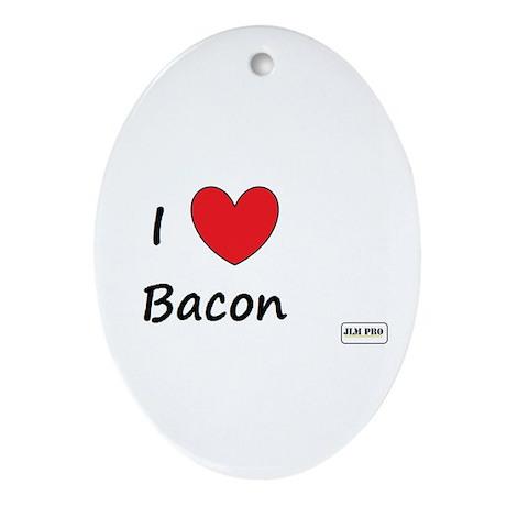 Bacon Love Ornament (Oval)