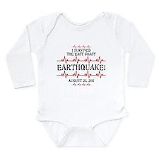 East Coast Earthquake Long Sleeve Infant Bodysuit