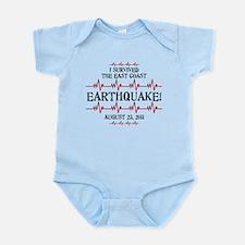 East Coast Earthquake Infant Bodysuit