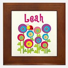Leah Framed Tile