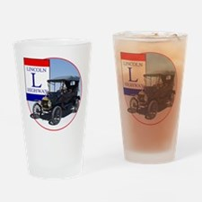 The Lincoln Highway Drinking Glass
