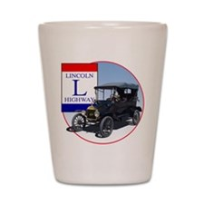 The Lincoln Highway Shot Glass