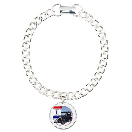 The Lincoln Highway Charm Bracelet, One Charm
