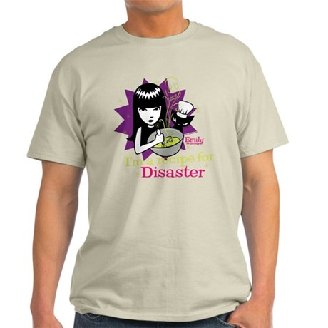 Recipe For Disaster Light T-Shirt