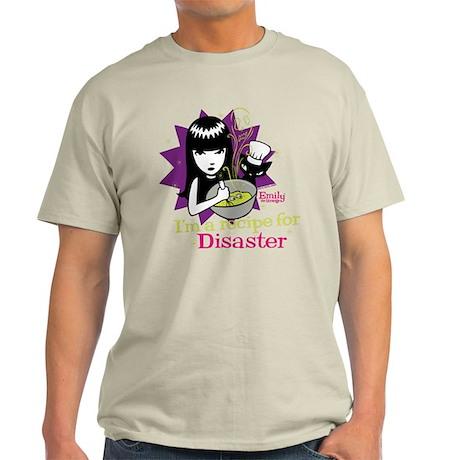 Recipe For Disaster Light T-Shirt