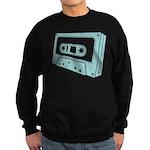 Blue Cassette Tape Sweatshirt (dark)