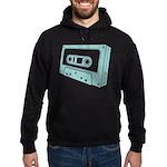 Blue Cassette Tape Hoodie (dark)