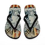 Libertas Liberty Goddess Flip Flops