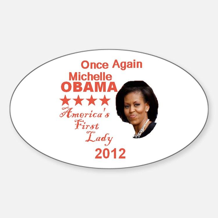 Michelle 2012 Sticker (Oval)