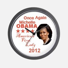 Michelle 2012 Wall Clock