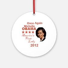 Michelle 2012 Ornament (Round)