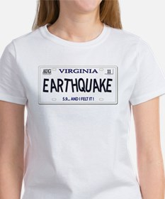 #2 Virginia Earthquake 2011 Women's T-Shirt