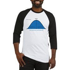 Normal bell curve Baseball Jersey