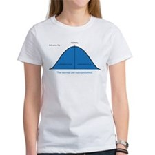 Normal bell curve Tee