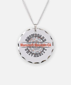 Snowboard Mammoth Mt. CA Necklace
