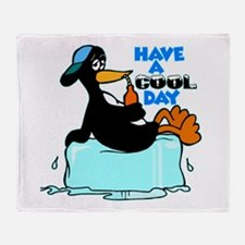Have A Cool Day Throw Blanket