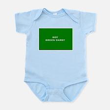 """Got Green Card?"" Infant Creeper"