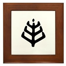 Romuva Ethnic Religion Framed Tile - 2