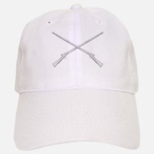 Crossed Muskets Baseball Baseball Cap