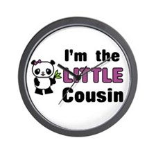 I'm the Little Cousin Wall Clock