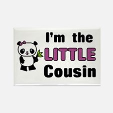 I'm the Little Cousin Rectangle Magnet