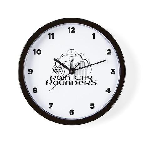 Rain City Rounders - Wall Clock