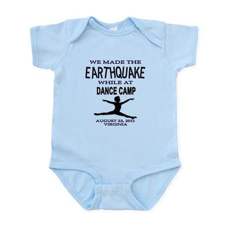 #3 Virginia Earthquake 2011 Infant Bodysuit