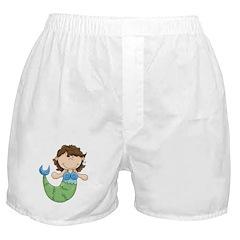 Pretty Little Mermaid Boxer Shorts