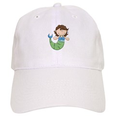 Pretty Little Mermaid Baseball Cap