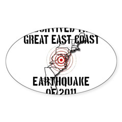 The Great Earthquake of 2011 Decal