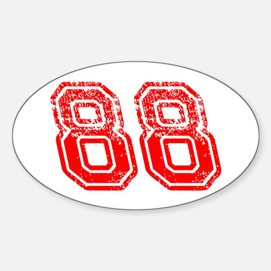 Support - 88 Sticker (Oval)