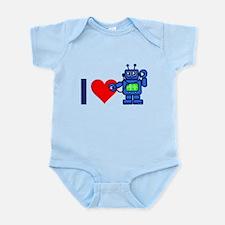 I heart robot Infant Bodysuit
