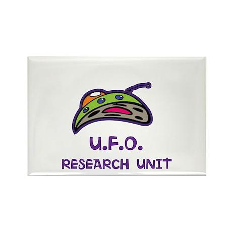 UFO Research Unit Rectangle Magnet