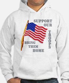 Support Our Troops Bring Them Home Hoodie