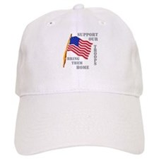 Support Our Troops Bring Them Home Baseball Cap