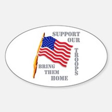 Support Our Troops Bring Them Home Decal
