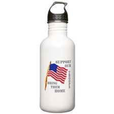 Support Our Troops Bring Them Water Bottle