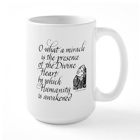 Hildegard Divine Heart Large Mug