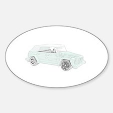 VW Thing in color Decal