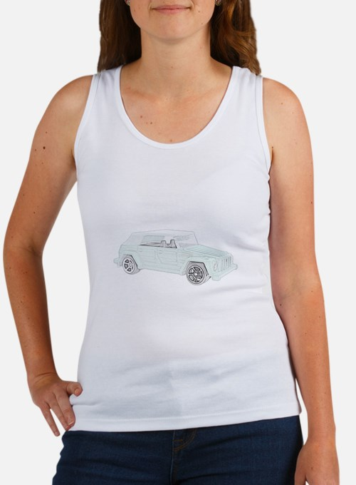 VW Thing in color Women's Tank Top