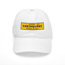 Earthquake 8/23/11 Baseball Cap
