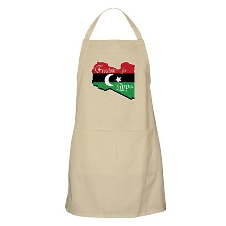 Freedom for Libya 2011 Apron