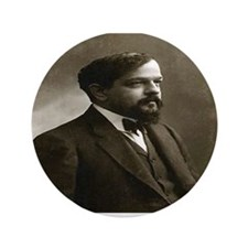 "Claude Debussy 3.5"" Button"