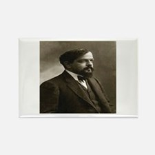 Claude Debussy Rectangle Magnet