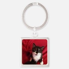 Funny Red heads Square Keychain