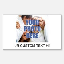 Custom Photo and Text Decal