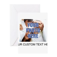 Custom Photo and Text Greeting Card